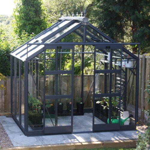 8′5″ Wide Titan 800 Elite Greenhouse