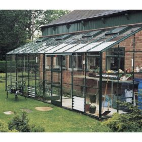 6′4″ Wide Lean-to Kensington Elite Greenhouse