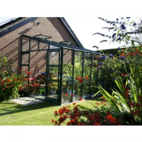 8′4″ Wide Titan K800 Lean-to Elite Greenhouse