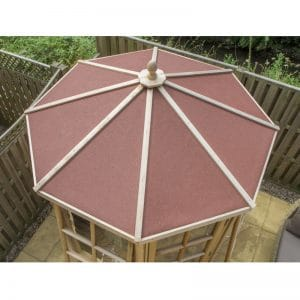 Alton Summerhouse Felt Roof