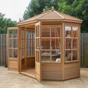 Chatsworth 6×8 Plus Alton Summerhouse