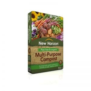 New Horizon Peat-free Compost £5.99 Or 2 For £10.00